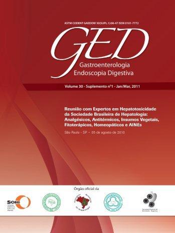 GED Rev Suplemento Hepatotoxicidade - Sociedade Brasileira de ...