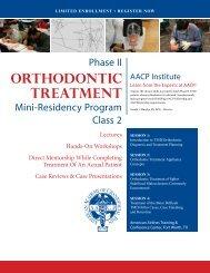 Meeting Brochure - American Academy of Craniofacial Pain
