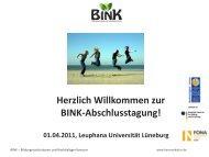 Vortrag von Prof. Dr. Gerd Michelsen - BINK - Bildungsinstitutionen ...