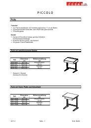 01 Tische - Zesar