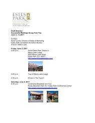 Draft Itinerary Successful Meetings Group Fam Trip June 3 – 5, 2011 ...