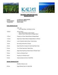 SUCCESSFUL MEETINGS POST STAY September 28-30, 2012