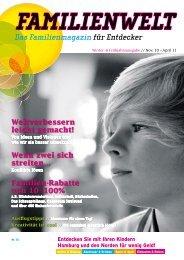 Das Familienmagazin für Entdecker - Familienwelt