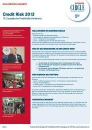 Partnerangebot Credit Risk 2013.indd - Business Circle