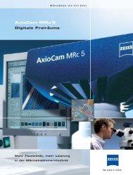 AxioCam MRc 5 - Carl Zeiss