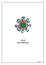 Richtlinie UZ62 - Umweltzeichen Green Meetings & Green Events