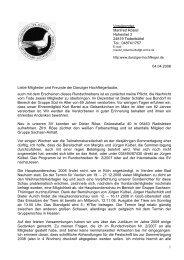 Rundschreiben Nr. 1/2008 - SV der Danziger Hochflieger