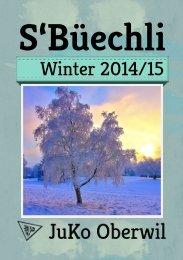 S'Büechli Winter 2014/15