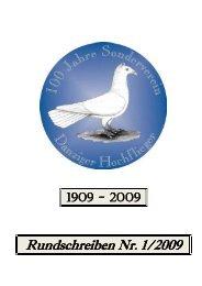 Rundschreiben Nr. 1/2009 - SV der Danziger Hochflieger