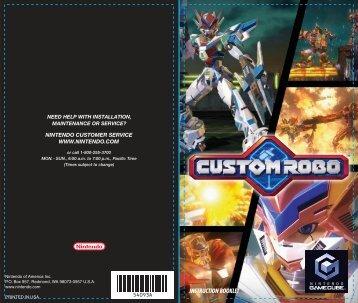 Custom Robo - Nintendo