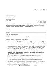 Anträge Schulmilchparty- Schulen - Landesvereinigung Thüringer ...