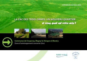 ZAC des Trois Ormes - Coupvray