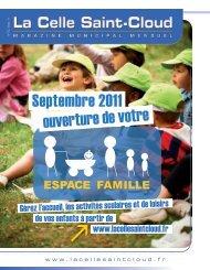 Septembre 2011 ouverture de votre