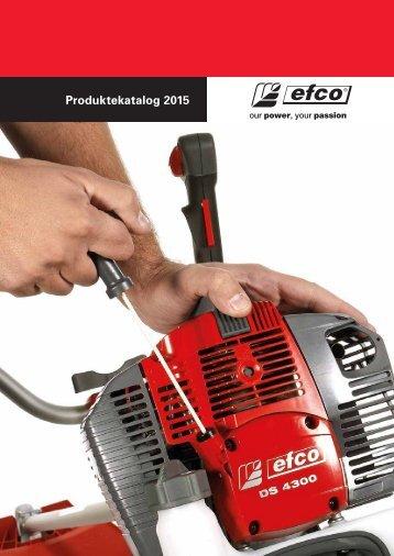 Produktekatalog Forst- und Gartengeräte von EFCO 2015