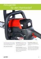 Produktekatalog Forst- und Gartengeräte von EFCO 2015 - Seite 5