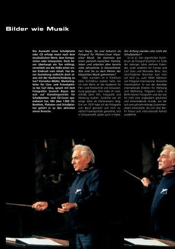 Bilder wie Musik - Carl Zeiss