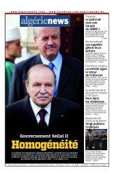Fr-12-09-2013 - Algérie news quotidien national d'information