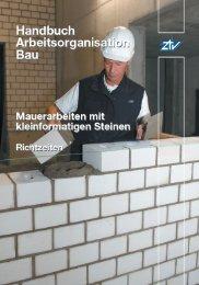 Handbuch Arbeitsorganisation Bau - Zeittechnik-Verlag GmbH