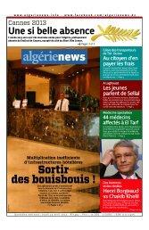 Fr-25-04-2013 - Algérie news quotidien national d'information