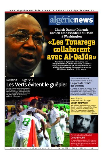 Fr-17-06-2013 - Algérie news quotidien national d'information