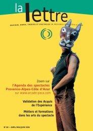 La Lettre n°18 - Arcade Provence-Alpes-Côte d'Azur - Arcade PACA
