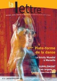 La Lettre n°13 - Arcade Provence-Alpes-Côte d'Azur - Arcade PACA