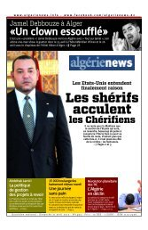Fr-21-04-2013 - Algérie news quotidien national d'information