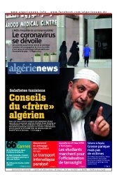 Fr-20-05-2013 - Algérie news quotidien national d'information