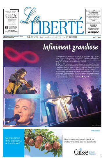 Saint-Boniface - La Liberté