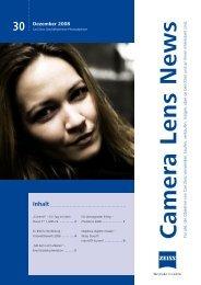 Camera Lens News Nr. 30 - Carl Zeiss International