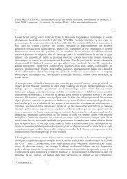Introduction. Le dynamisme incertain du monde ... - pierrefrancois