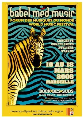 Babel Med Music 2006 - Arcade Provence-Alpes-Côte d'Azur