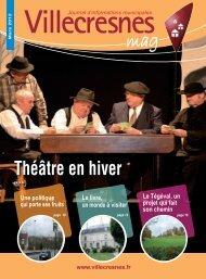 Téléchargez le magazine - Ville de Villecresnes