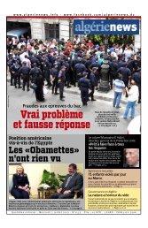 Fr-03-07-2013 - Algérie news quotidien national d'information