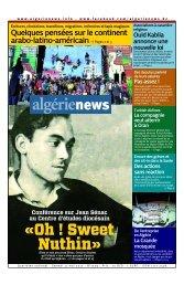 Fr-11-05-2013 - Algérie news quotidien national d'information