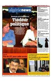 Fr-03-09-2013 - Algérie news quotidien national d'information