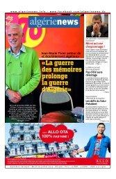 Fr-16-07-2013 - Algérie news quotidien national d'information