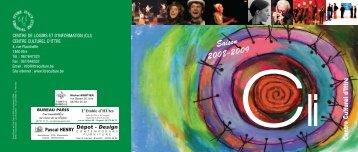 Saison 2008-2009 - Centre Culturel d'Ittre