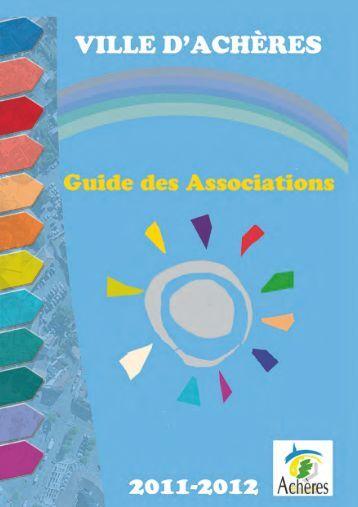 Guide de la vie associative (pdf - 806,27 ko) - Achères