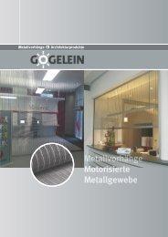Broschüre der Metallgewebe als Download - Gögelein ...