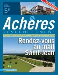 Achères développement n°5