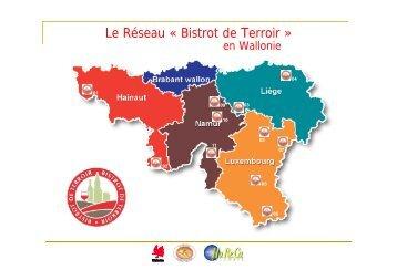 Le Réseau « Bistrot de Terroir » - Fédération Horeca Wallonie
