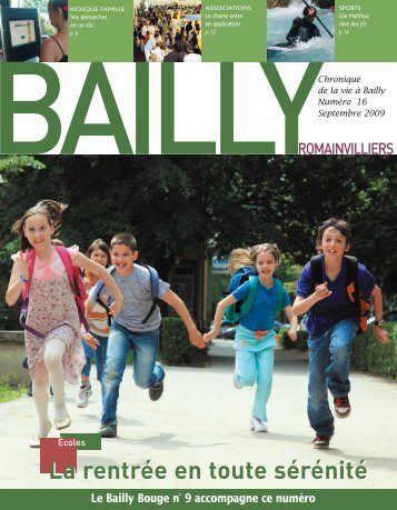 La Chronique de Bailly n°16 - Bailly-Romainvilliers