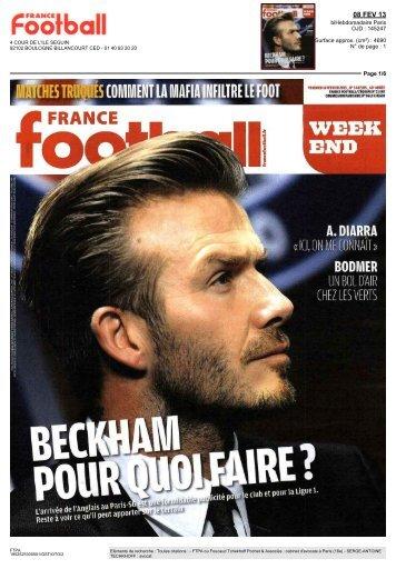 Beckham : Pour quoi faire - FTPA