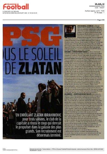 Le PSG sous le soleil de Zlatan - FTPA
