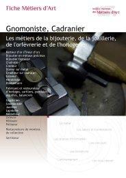 Gnomoniste, Cadranier - Institut National des Métiers d'Art