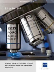 Primo Star iLED Offers More Possibilities for Testing - Carl Zeiss, Inc.