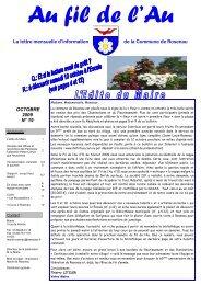 N°19, octobre 2009 - Commune de Rosenau
