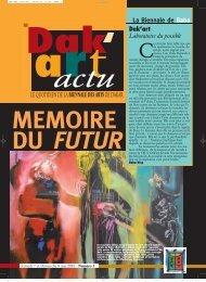 Dak - Biennale de l'art africain contemporain Dak'Art