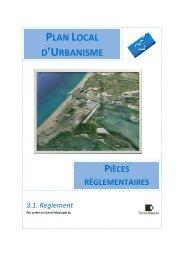 PLAN LOCAL D'URBANISME - Port la Nouvelle